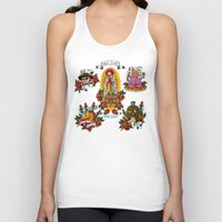 junk food Tank Tops featuring Holy Junk by ERROR Design