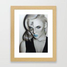 'Silver Soul' Framed Art Print