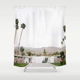 , California Wall Art, Palm Springs Shower Curtain