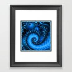 Space Race. Framed Art Print