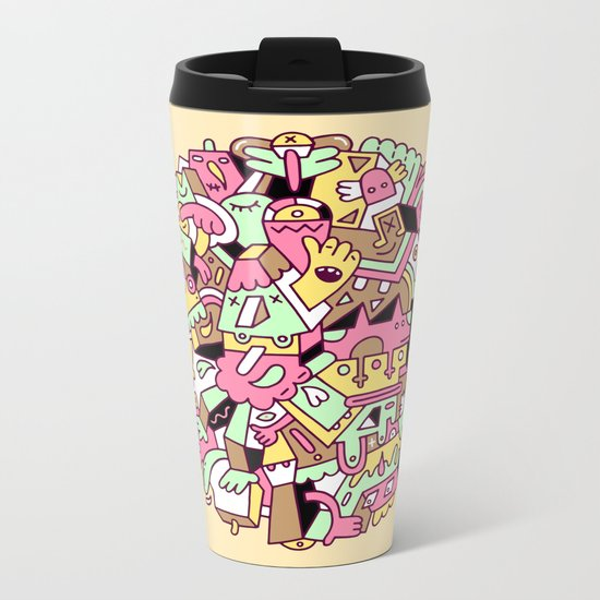 Mumble Metal Travel Mug