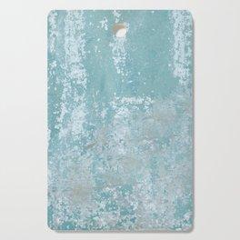 Galvanized Vintage Metal Blue Cutting Board
