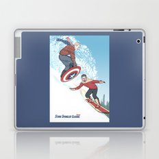 Stark Spangled Sledding (Recipe for a Concussion) Laptop & iPad Skin