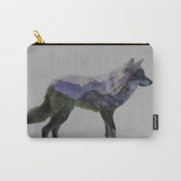 The Rocky Mountain Gray Wolf Carry-All Pouch
