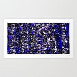 plastic wax factory 16 - Father Dagon Art Print