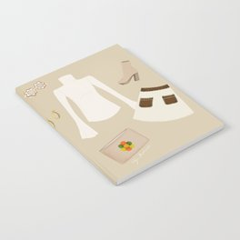 Retro Outfit Notebook