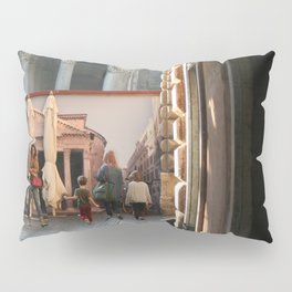 Pantheon of Rome Locals's View Pillow Sham