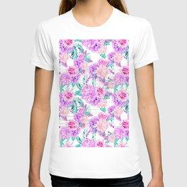 Floral Ice Cream 04 T-shirt