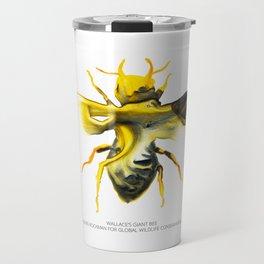 Wallace's Giant Bee Travel Mug