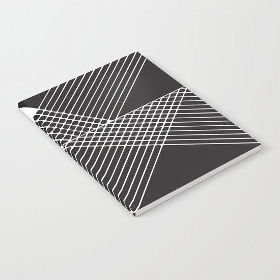 Night Stripes Notebook