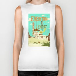 EVERYTHING IS ENERGY Biker Tank