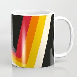 70s Bouncing Stripe Coffee Mug