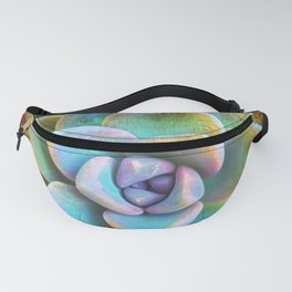 Cactus close-up photo | Bloom where you are planted Fanny Pack