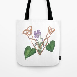 V is for Violet Tote Bag