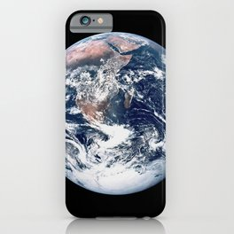 Apollo 17 - Iconic Blue Marble Photograph iPhone Case