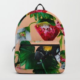 Strawberries and Bees Backpack