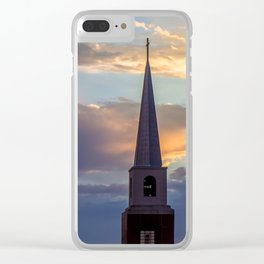 Seminary Sunset pt.4 Clear iPhone Case