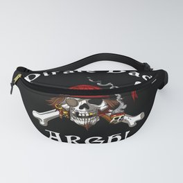 Pirate Dad Skull Crossbones Father Fanny Pack