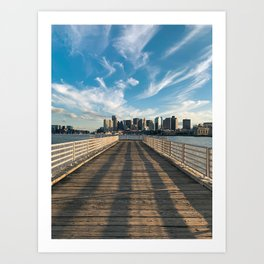 Pier Boston Art Print