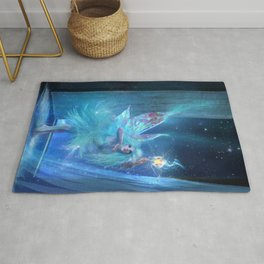 The Blue Fairy Rug