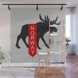 Norway Moose Banner Wall Mural