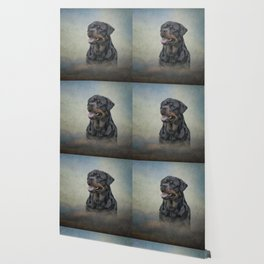 Drawing dog rottweiler 10 Wallpaper