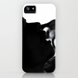 Smoke Silhouette iPhone Case