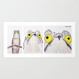 Bird no. 146: [ANXIETY INTENSIFIES] Art Print