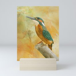 Dawn Kingfisher Mini Art Print