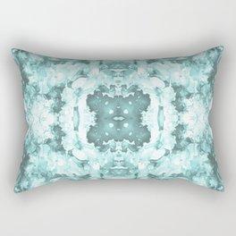 Abstract 20 Aqua Rectangular Pillow