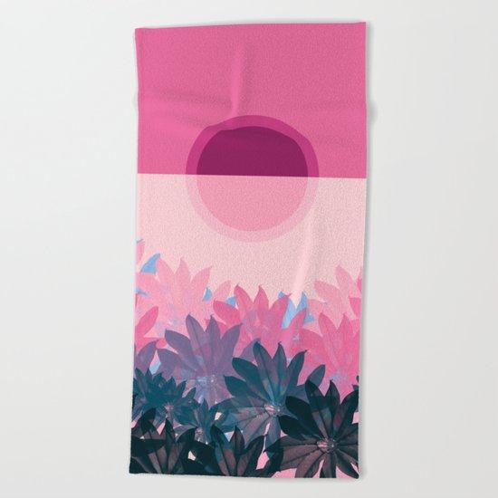 Summer Time 7 Beach Towel