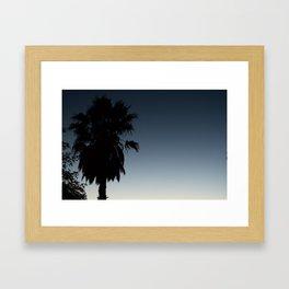 cali palmtree Framed Art Print