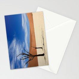 Dead Tree Desert Stationery Cards