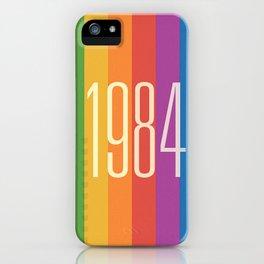 1984 (v) iPhone Case