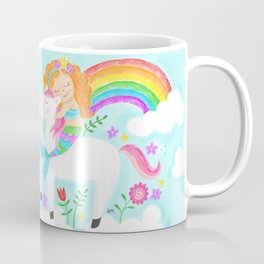 Unicorns, Mermaids & Rainbows...Oh My! Coffee Mug