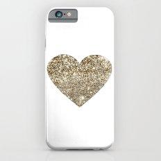 GOLD Heart-8 Slim Case iPhone 6