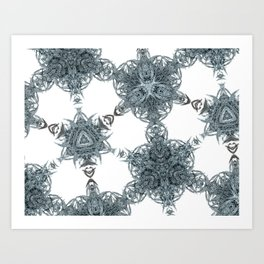 star pattern Art Print