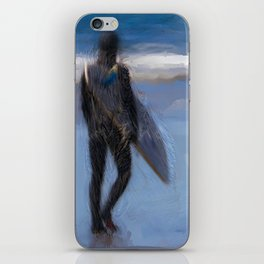 Waiting for the Wave iPhone Skin