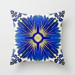 Royal Blue Throw Pillows | Society6