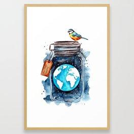 Our Planet Framed Art Print