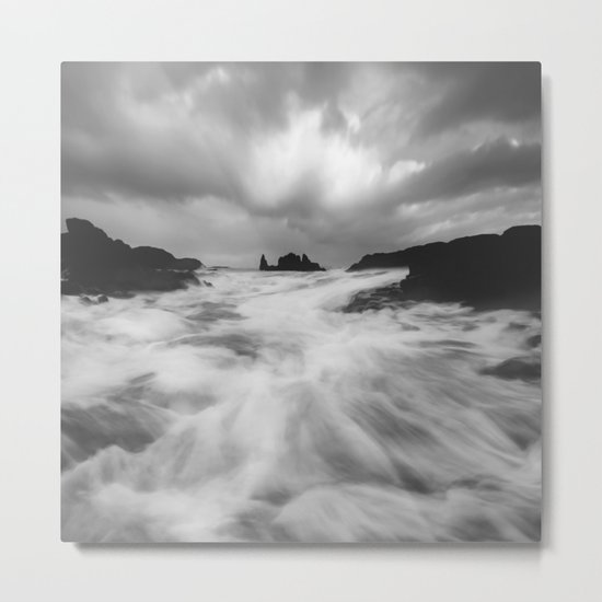 Stormy Morning Metal Print