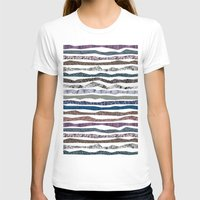 mineral T-shirts featuring Mineral Stripes by artberry