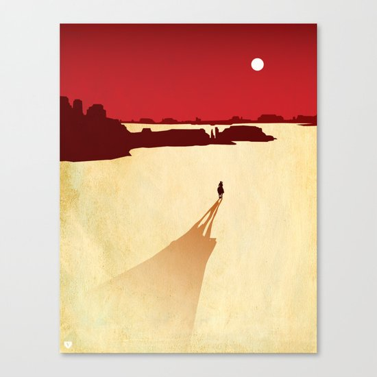Top 3 Games 2010: Red Dead Redemption Canvas Print