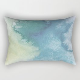 Watercolor blue Rectangular Pillow