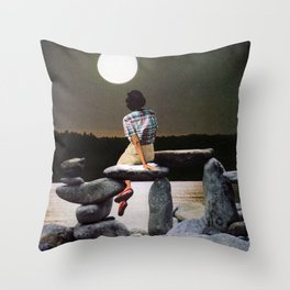 WATER SIGNS Throw Pillow