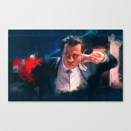 Vincent Vega Dance The Twist - Pulp Fiction Canvas Print