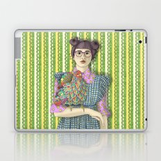 Girl with Dream Chicken Laptop & iPad Skin