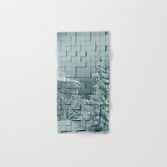Winter collage Hand & Bath Towel