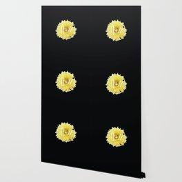 Trench Yellow Flower Wallpaper