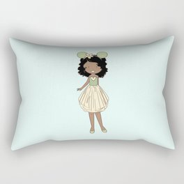 Tia Fan Girl Rectangular Pillow